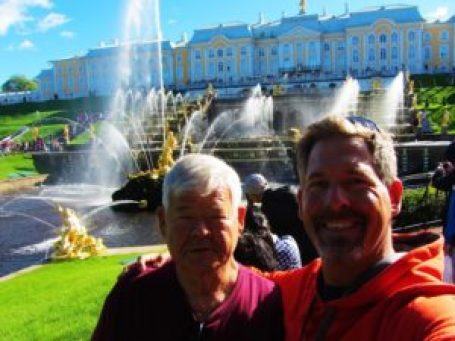 Peterhof in St Petersburg