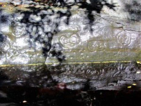 Petroglyphs - At Water line
