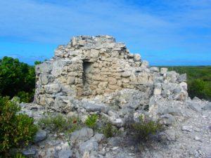 Fort in Gravenor Bay at Barbuda