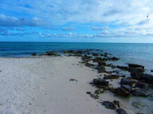 Old dock in Gravenor Bay Barbuda