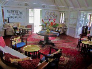 Nevis - Hermitage House interior