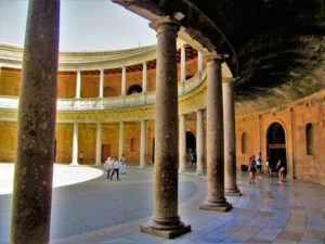 Alhambra - Charles V Palace