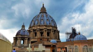 On top of St Peter's Basilica