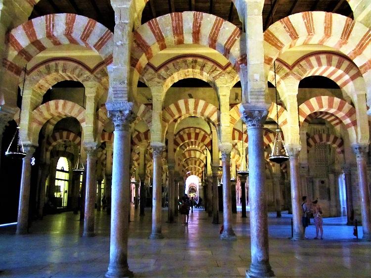 Interior of the Mezquita