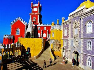 Portugal travel guide - Sintra - Pena Palace