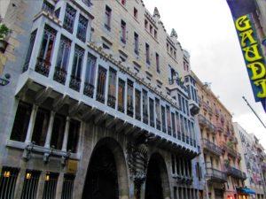 Spain - Barcelona - Gaudi - Palau Güell