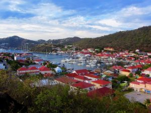 St Barts travel guide - Gustavia - Harbor From Fort Karl