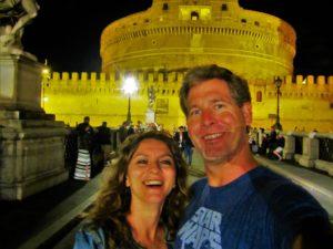 Italy - Rome - Castel St. Angelo - Us