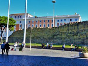 Italy - Rome - Servian Wall