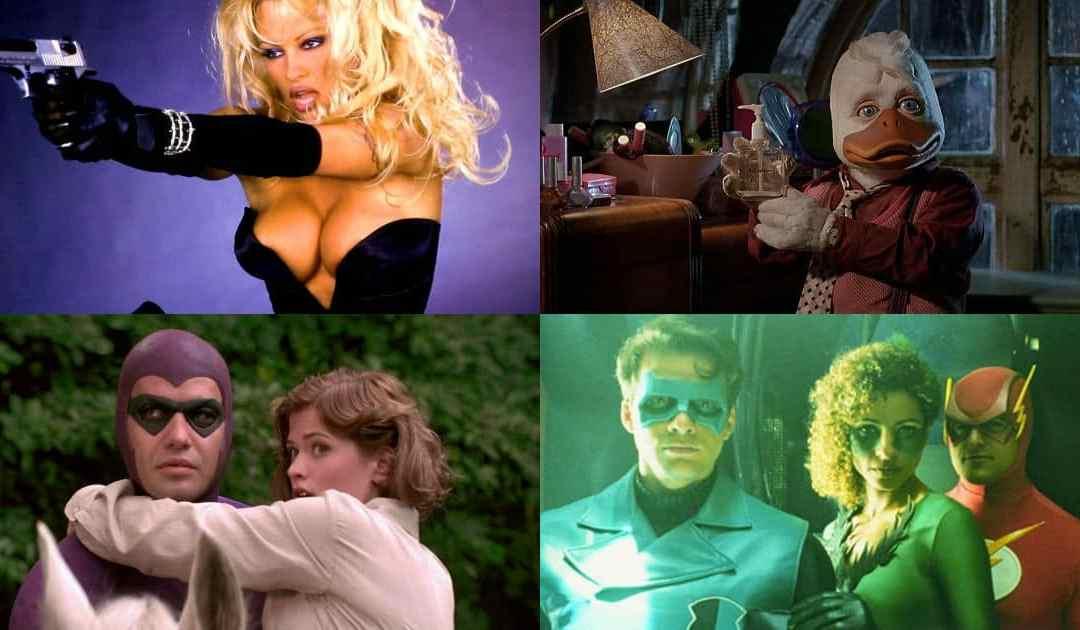 10 Najgorih Superhero filmova svih vremena