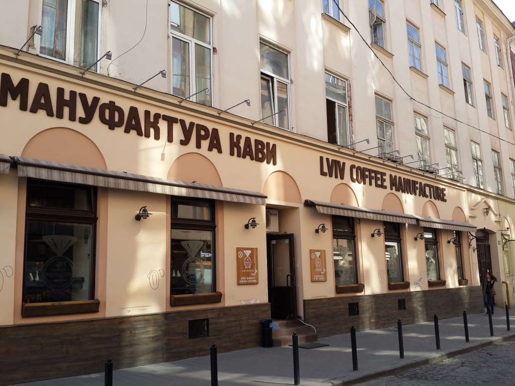 coffee shops in lviv
