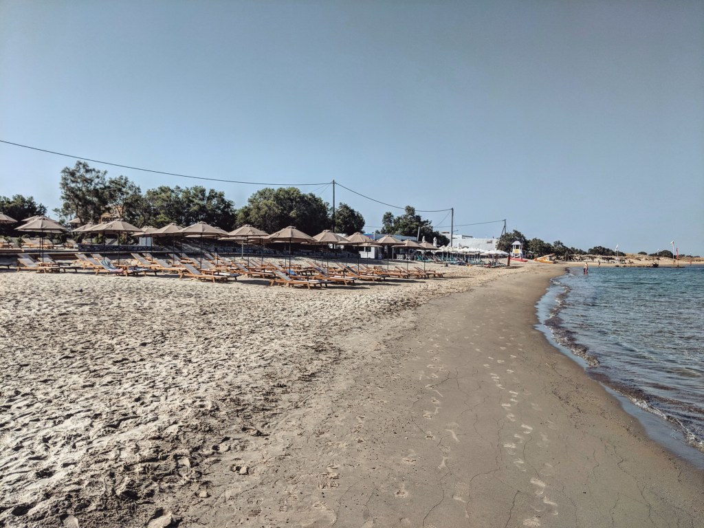 Agios Georgios Beach in Naxos