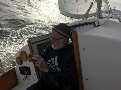 Jeff's boat