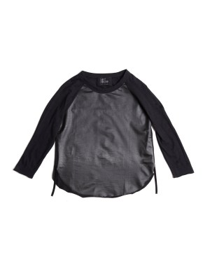 Lost&Found kids Black Cotton Long Sleeve T-Shirt