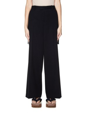 Sue Undercover Black Wool Trousers