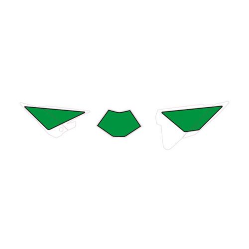 Nummerplåtsdekaler Grön (Beta)
