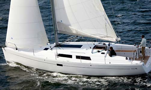"Delivery of Sailing Yacht ""Adagio"" Model: Hanse 41"