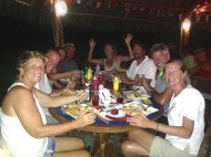 Turtle Cay dinner