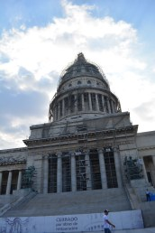 Cuba's capitol building is based on the USA.