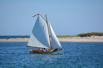 Beautiful sailboat in Cuttyhunk