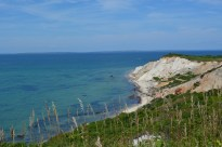 Gorgeous Gay Head. The Southern end of Martha's Vineyard