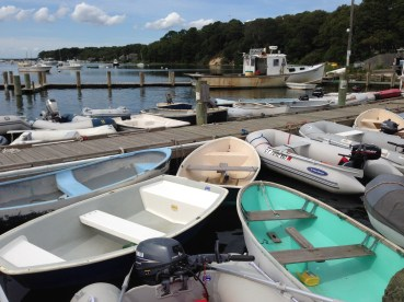Always room for one more at the dinghy dock