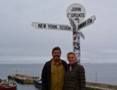 John O'Groats at the top of Scotland