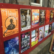 Show posters for the Fringe Festival