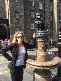 Greyfriars Bobby was a terrier who for 14 years guarded his master's grave.