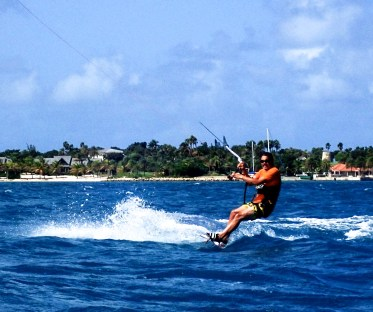 A little kiting around Jumby.