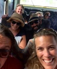 Antigua bus ride with Johnny, Shelley, Brian & Lauren