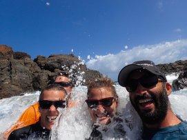 Lauren & Brian in Culebrita