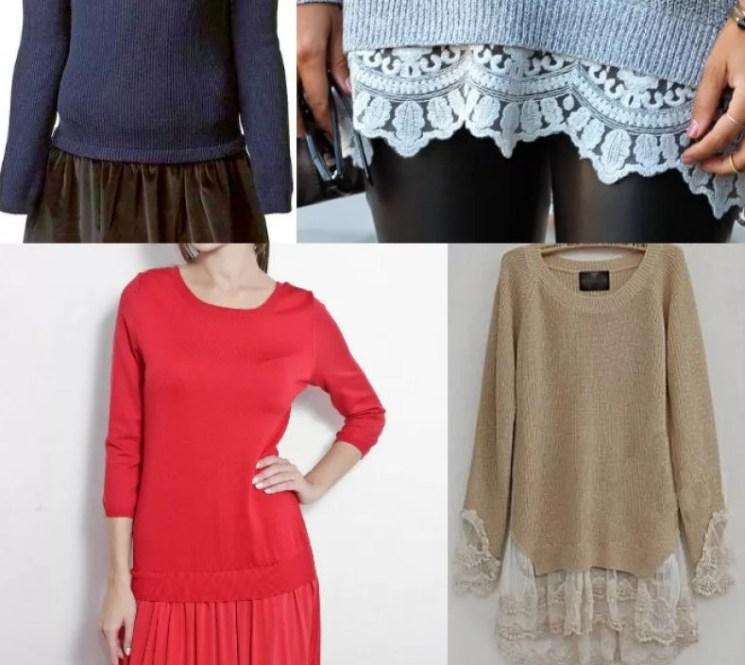 Знатные трюки! Как расширить или удлинить одежду: варианты для реализации идей...