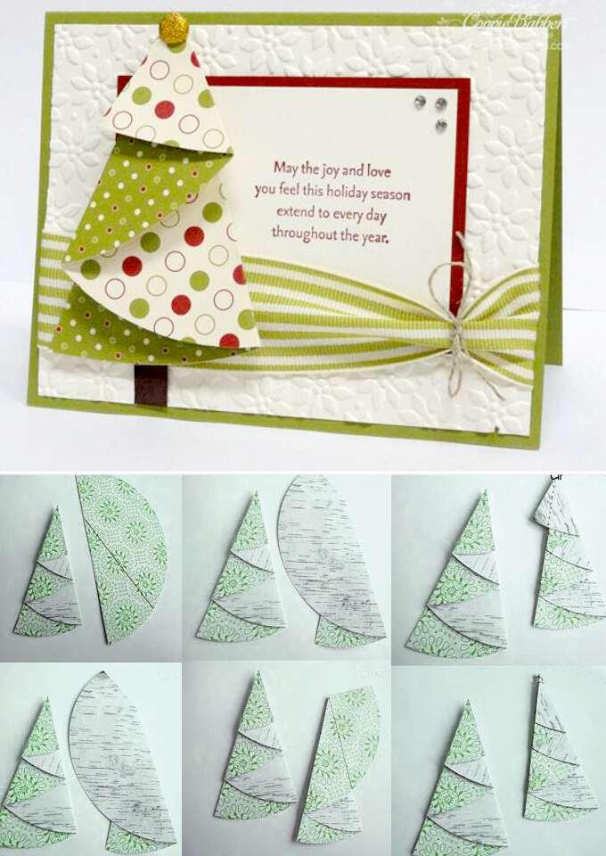 Можно, маленькие новогодние открытки своими руками
