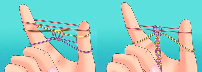 Cómo tejer las pulseras de la caucho: instrucciones paso a paso para principiantes