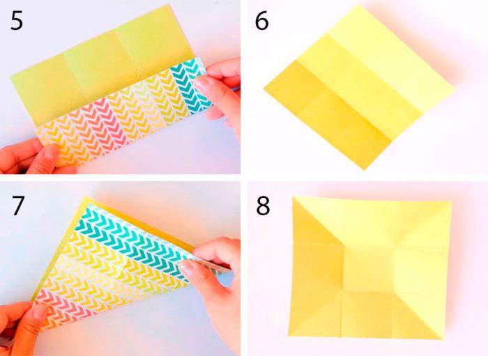 Zarf Origami Nasıl Katlanır?