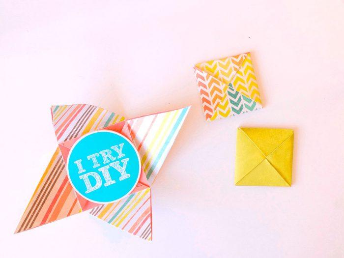 Kapalı Origami Zarfı