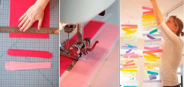 Guirlande du Nouvel An de Paper Stripes Master Class