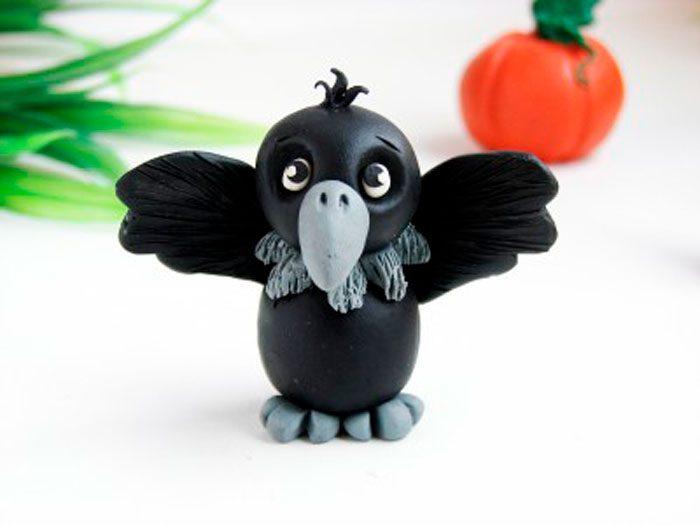 Crow από πλαστελίνη