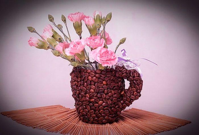 Кофейная кружка своими руками мастер класс
