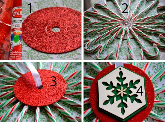 Жаңа жылдық композициялық шеберлік сабағы