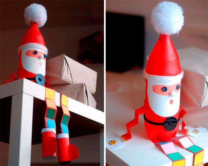 Santa Claus z láhve