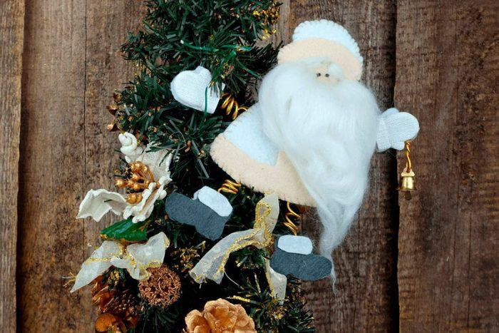 Santa Claus Keçeden