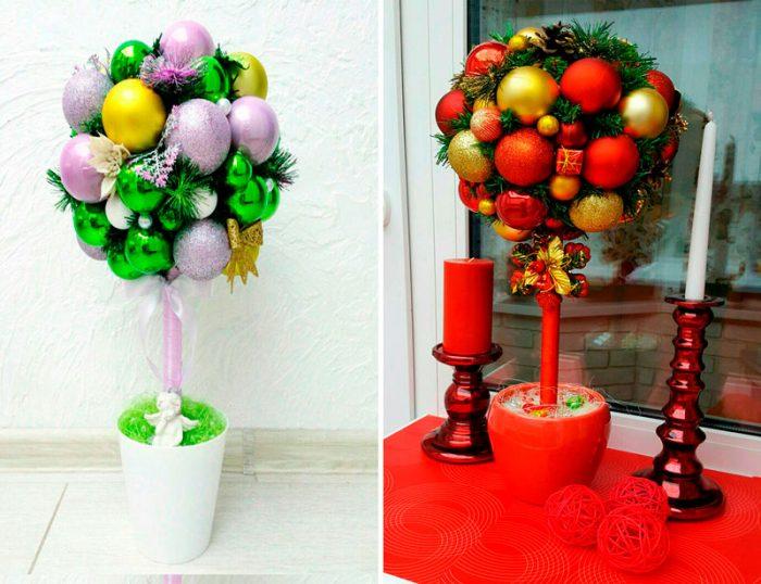 Жаңа жылдық топарияны өзіңіз жасаңыз