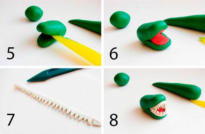 الطبقة الماجستير البلاستيك التمساح