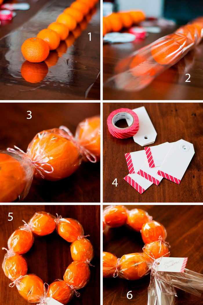 Wreath of Mandarin Step-by-Step Master Class