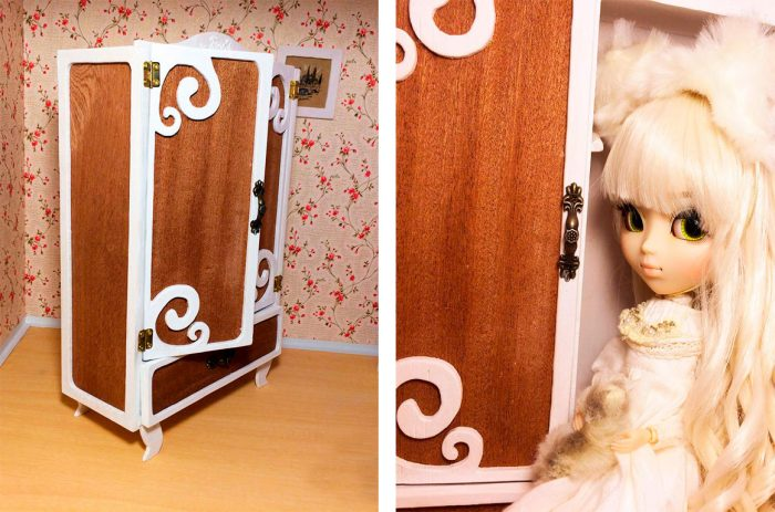 Kabinet Doll Plywood.