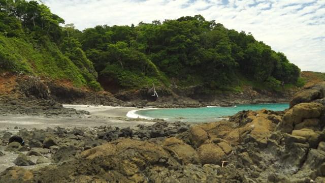 the beach at Isla Secas
