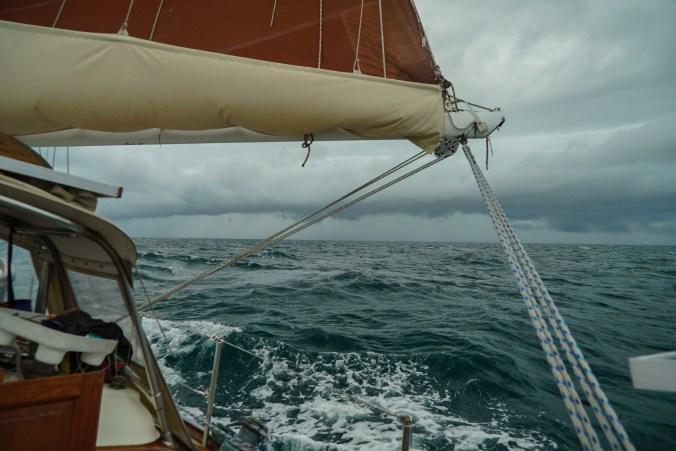 sailing in squalls