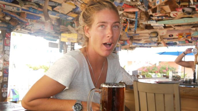 The bar at Little Cayman Beach Resort